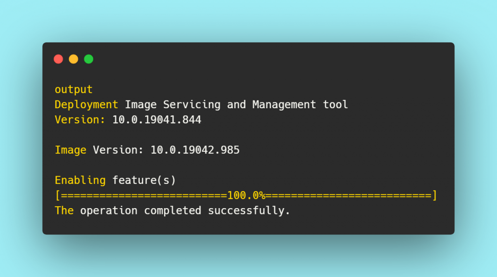 Deployment Image Servicing and Management tool